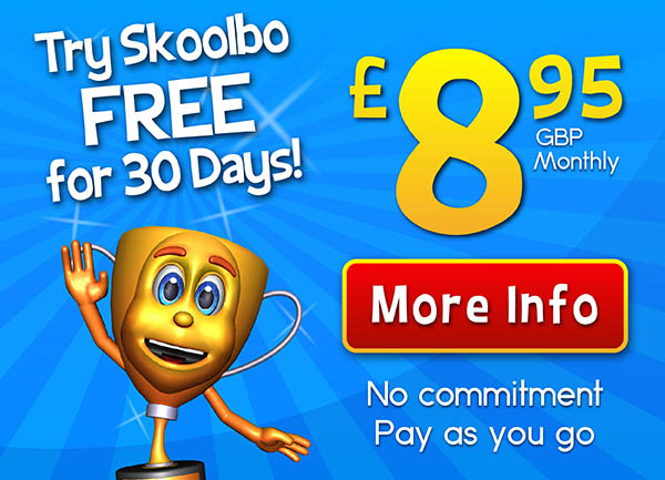 Skoolbo Monthly Subscription